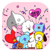 Cute BT21 Wallpapers For B T S icon
