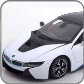 Crazy Car Driving & City Stunts: i8 icon