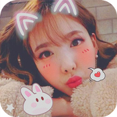 Sweet snap-beauty selfie camera & face filter icon