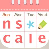 ナスカレ≪看護師のシフト共有アプリ≫ナースのスケジュール手帳 icon