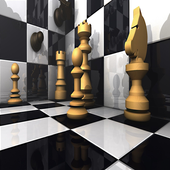 ♟️3D Chess Titans (Free Offline Game) icon