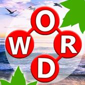 Word Land:Connect letters join nature trip-journey icon