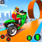 Impossible GT Bike Stunt Racing: Ramp Bike Games icon