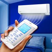 Remote control for air conditioners - AC remote icon