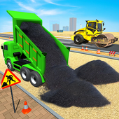 City Road Builder Construction: Free Games 2021 icon