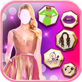 Fashion Dress Up and Makeup Photo Editor for Girls icon