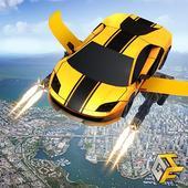 Flying Robot Car Games - Robot Shooting Games 2020 icon