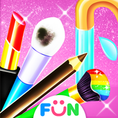 Makeup Kit Cleaning – Makeup Games for Girls icon