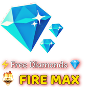 Fire max - FF Diamonds & character icon
