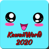 Kawaii world 2020 icon