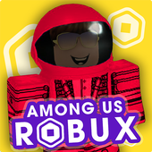 Free Robux Among Us icon