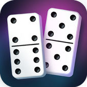 Dominoes game. Ace & Dice. icon