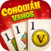 Conquian Vamos - The Best Card Game Online icon