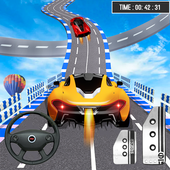 Mega Ramp Car Racing:Extreme Car Stunts Games 2020 icon