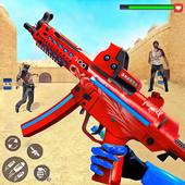 US Police Robot Zombie Shooter Robot Shooting Game icon