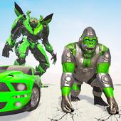 Gorilla Robot icon