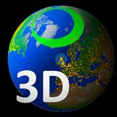 Aurora Forecast 3D icon