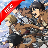 Attack Anime on Titan Live Wallpaper HD 4K Photos icon