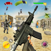 Squad Sniper Free Fire 3D Battlegrounds - Epic War icon