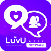 LuvU 2020 - Meet New People -Video Chat with Girls icon