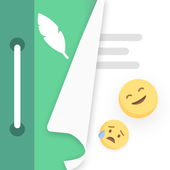 Mind journal: anxiety relief & mental health diary icon
