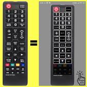SAMSUNG TV IR Like Remote SIMPLE icon