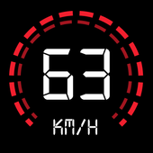 GPS Speedometer: Speed Tracker, HUD, Odometer icon