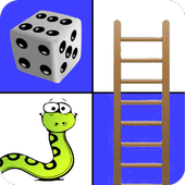 Snakes and Ladders - 2 to 4 player board game icon