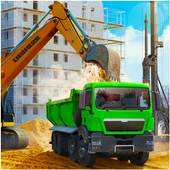 Construction City 2019: Building Simulator icon