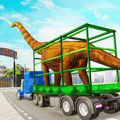Dino Transport Truck: Dinosaur Games icon