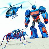 Ant Robot Transforming Games icon