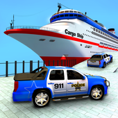 Police Plane Transport: Cruise Transport Games icon