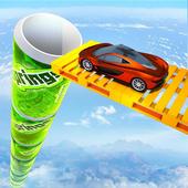 Mega Ramp Car Stunt Games : Free Car Driving Games icon