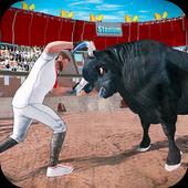 Angry Bull City Attack : Bull Simulator icon