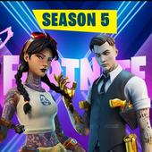Battle royale season 5 Chapter 2 Wallpapers icon