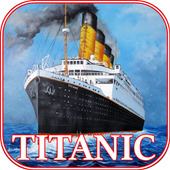 The Titanic. RMS Titanic online icon