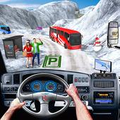 Modern Bus Simulator Parking New Games – Bus Games icon