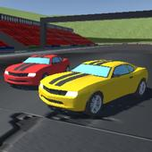 2 Player Racing 3D icon