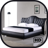 Modern Bed New Wooden Bed Furniture Design icon
