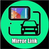 Mirror link Drive icon