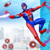 Flying Robot Superhero: Rescue City Survival Games icon