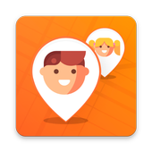 Where are my child - phone GPS location tracker icon