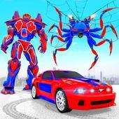 Spider Robot Car Game – Robot Transforming Games icon