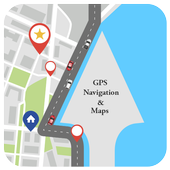 Navigation, GPS Route finder & Satellite maps icon