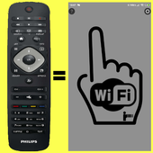 Remote for Philips TV(until 2015) Simple WiFi icon