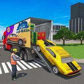 Mobile Car Wash Workshop: Service Truck Games icon
