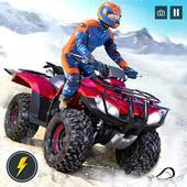 OffRoad Snow Mountain ATV Quad Bike Racing Stunts icon