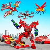 Multi Robot Transform game – Tank Robot Car Games icon