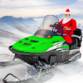 Santa Atv Snow Bike Racing 2020 : Quad Bike Race icon