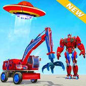 Excavator Robot Car Game – Elephant Robot Games 3d icon